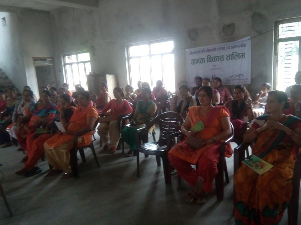 "Organized Capacity Building Training on ""Renewable Energy and women"
