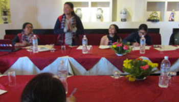 Interaction on Green Climate Fund and Gender issues in Nepal